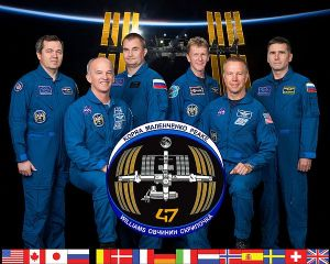 International Space Station Expedition 47 Official Crew Photograph